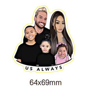 Family 2nd Edition Sticker Set