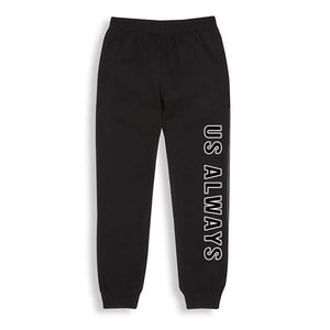 Us Always Black Joggers