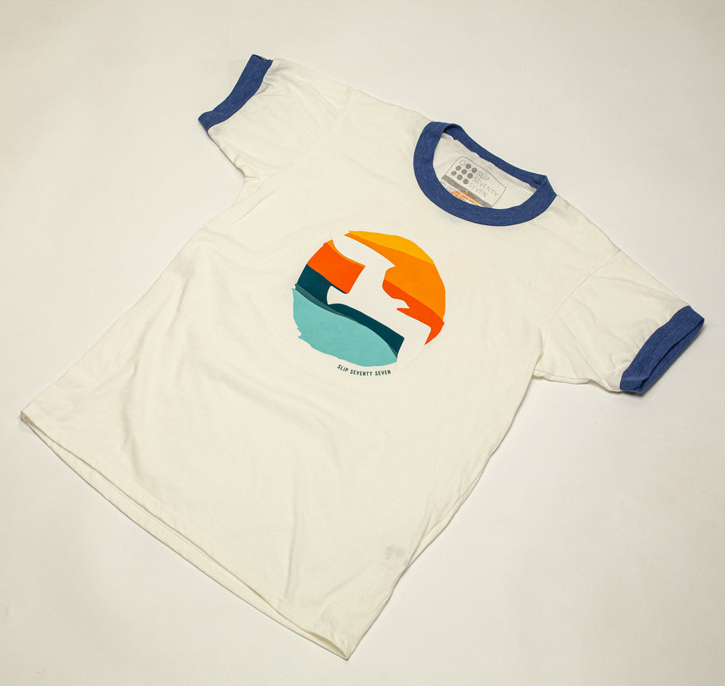 Women's Freegull Ringer Tee