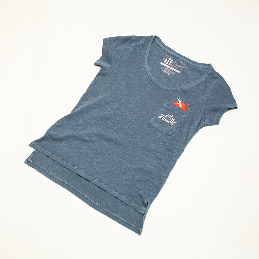 Women's Sunkissed S/S Slub Pocket Tee