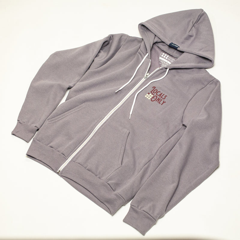 Men's Locals Only Fleece Zip Hoodie