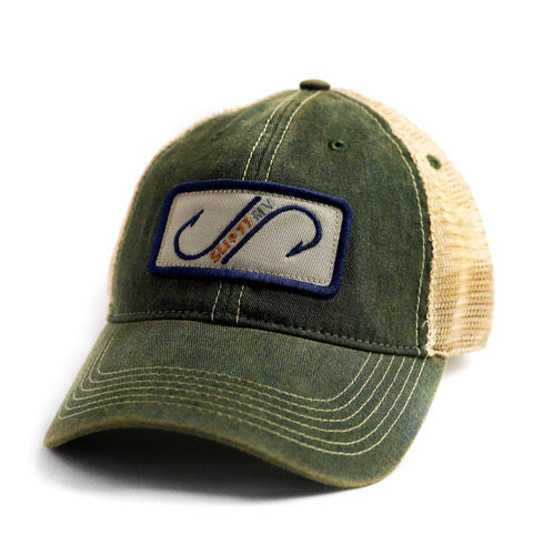 Slip77 Dual Hook Patch Hat