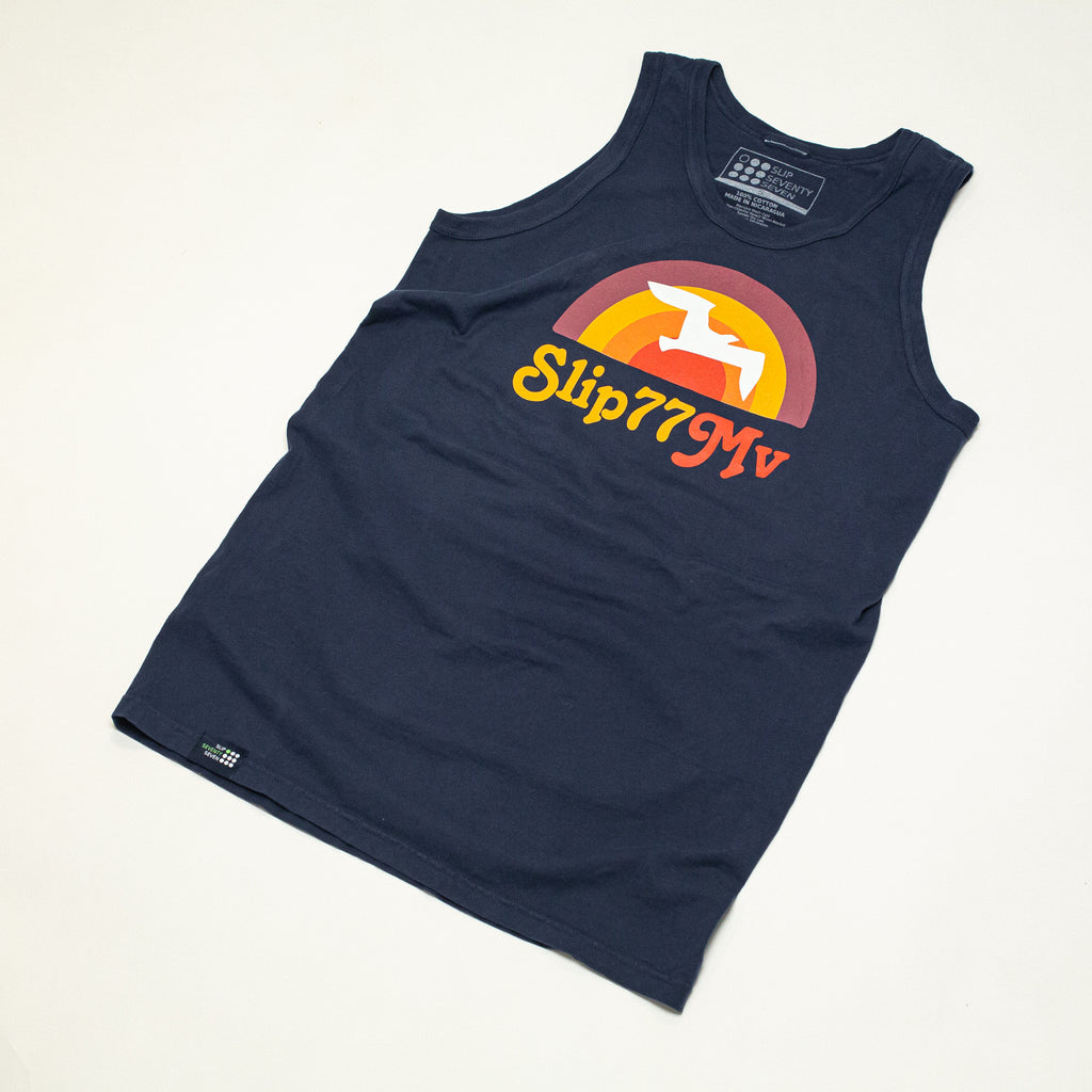 Men's Sunrise of 77 Cotton Tank