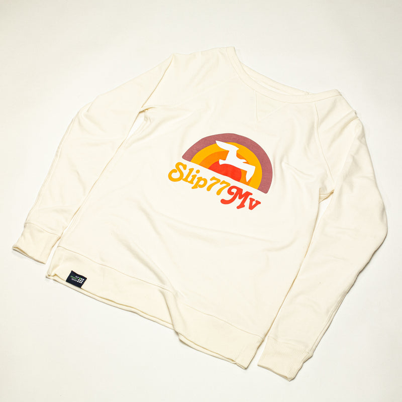 Women's Sunrise of 77 Vintage Terry Crew