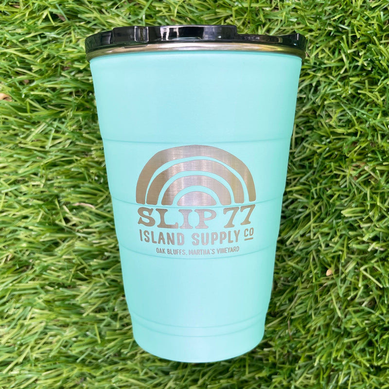 Slip77 Island Supply Party Cup Turquoise
