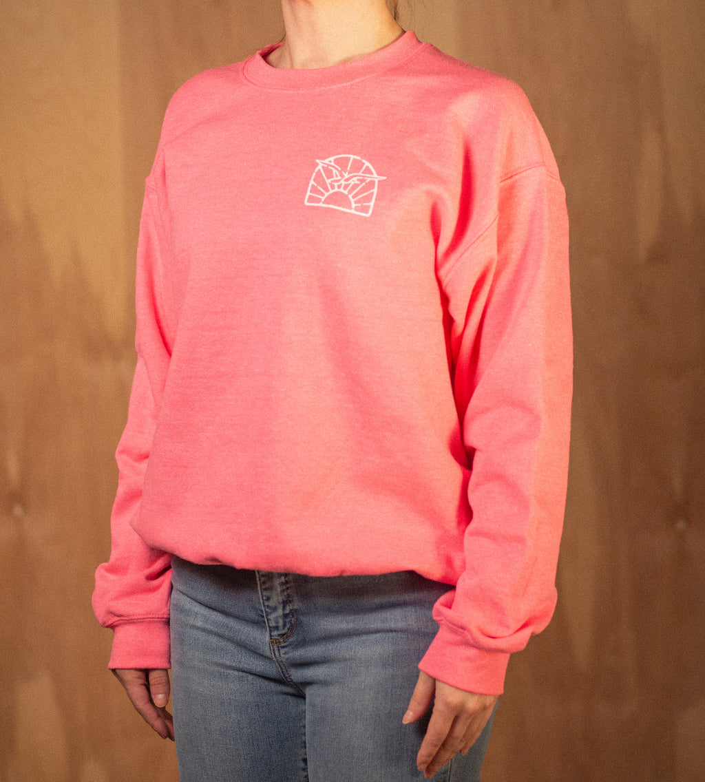Women's Meet Me on MV Crew Sweatshirt