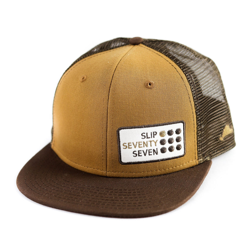 Slip77 9 Dots Patch Trucker