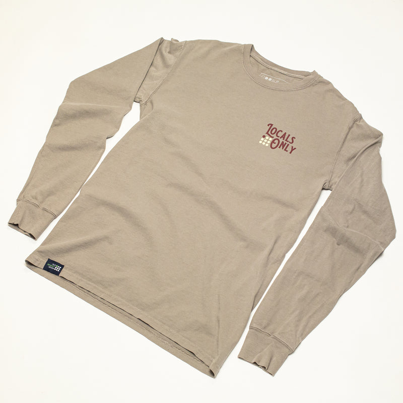 Men's Locals Only Garment Dyed L/S