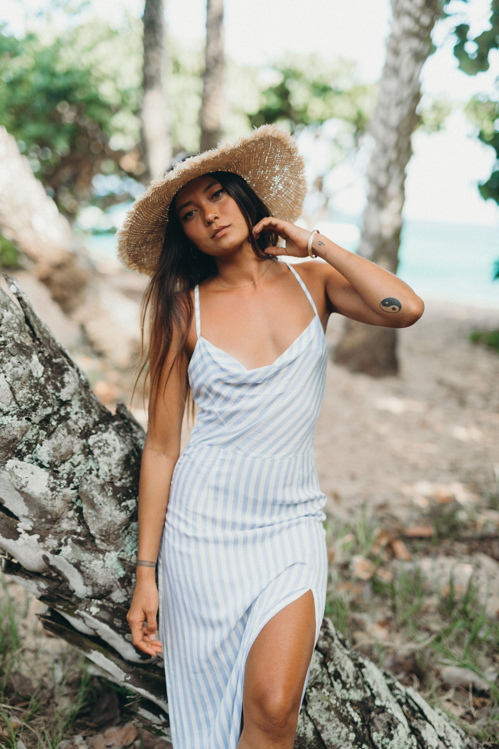 XIX Palms Santorini Midi Dress