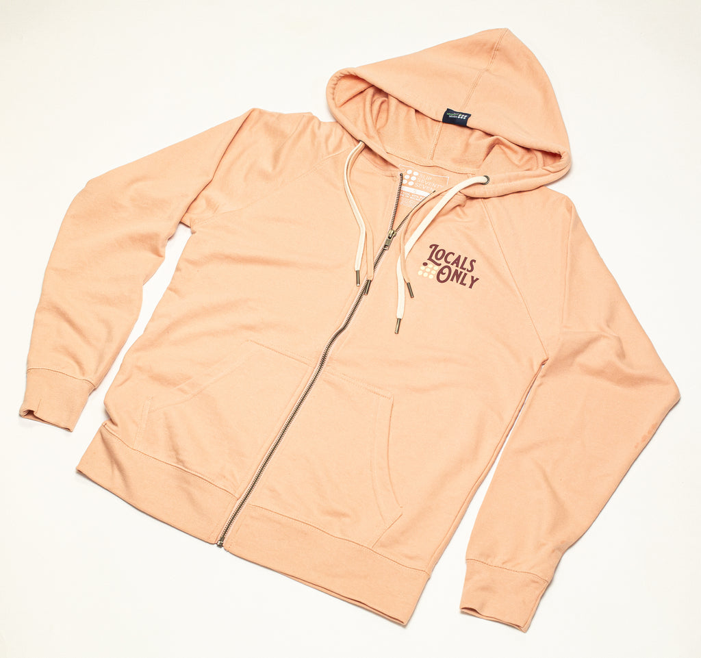 Women's Locals Only Terry Zip Hoodie