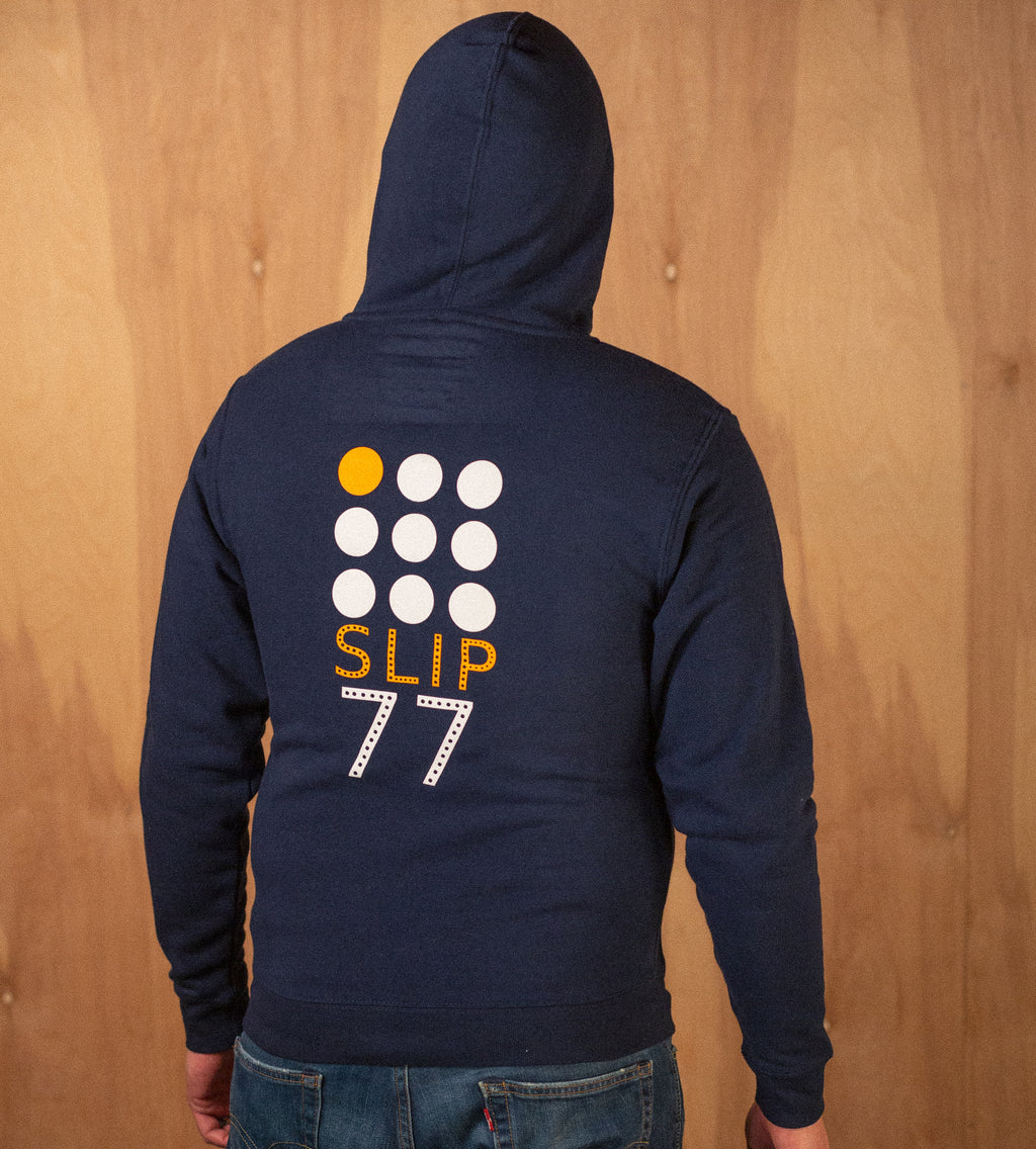 Men's 9 Dots Fleece Zip Hoodie
