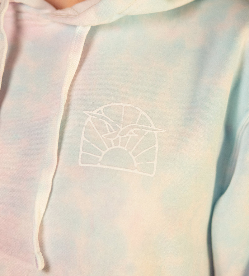 Women's Meet Me on MV Tie Dye Hoodie