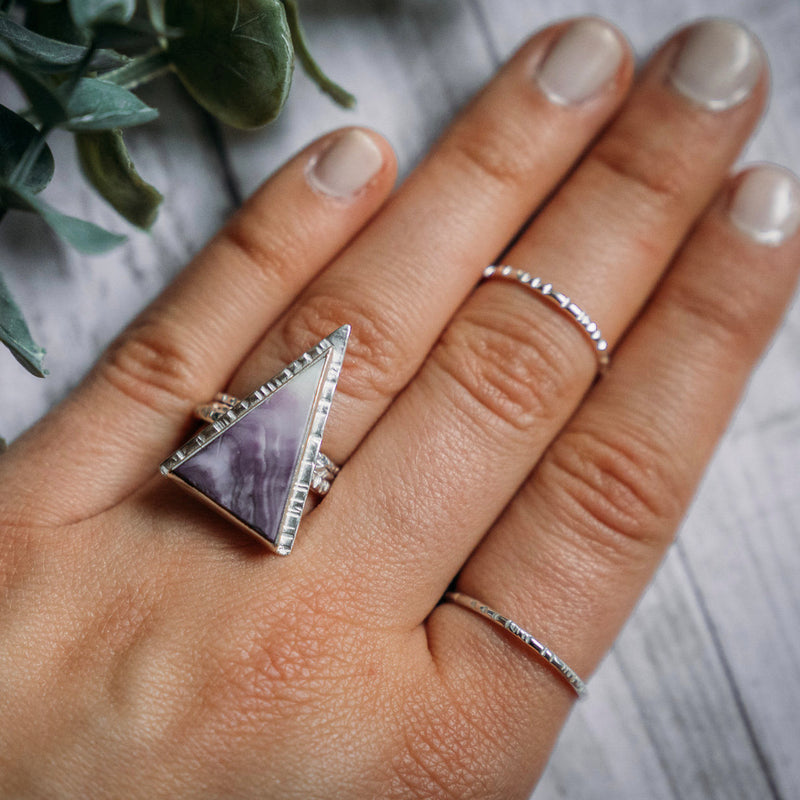 LFD Thin Stacker Ring Silver