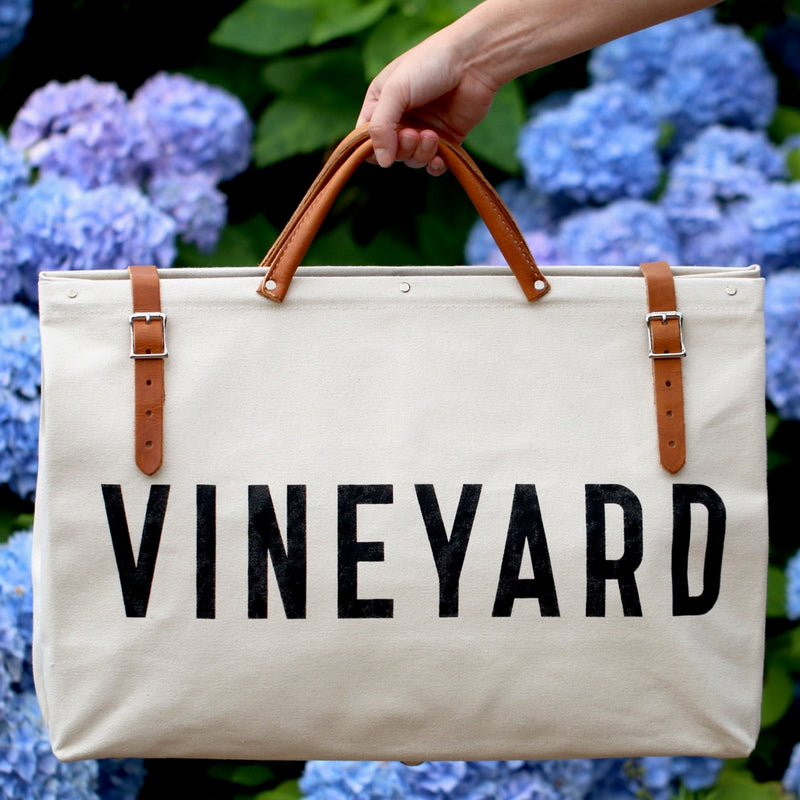 VINEYARD Natural Utility Bag