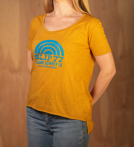 Women's Dawn Patrol Relaxed Jersey V-neck S/S