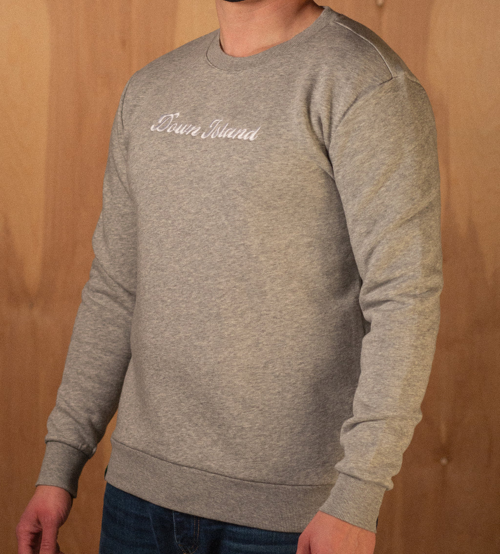 Men's Down Island Eco Cozy Fleece Crewneck