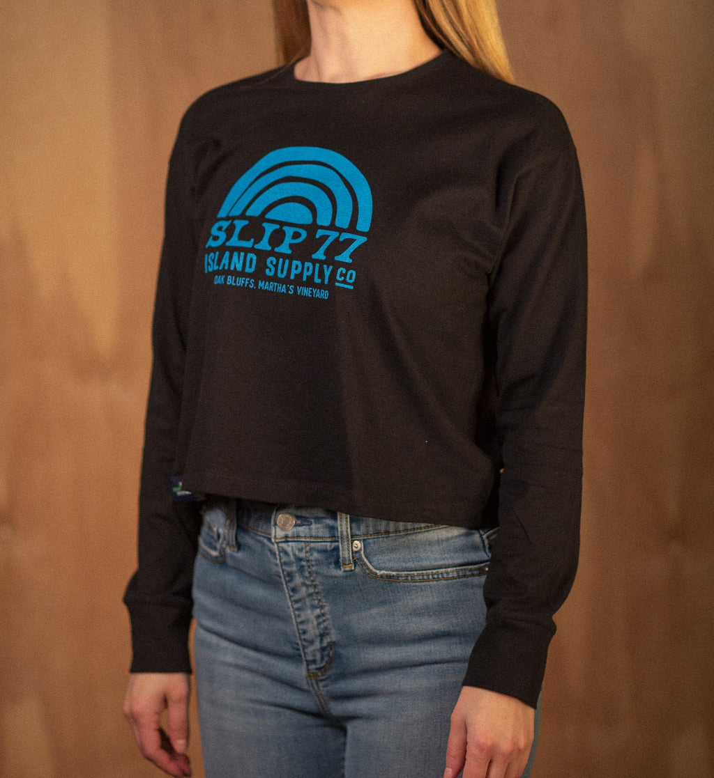 Women's Island Supply L/S Crop