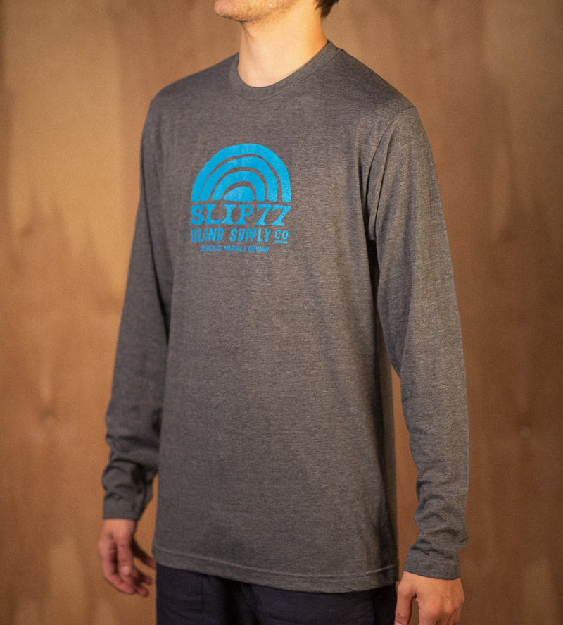 Men's Island Supply Poly L/S Tee