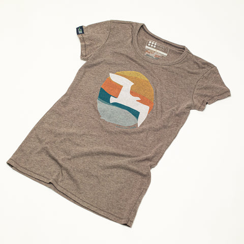 Women's Retro Flyer Muscle Tank