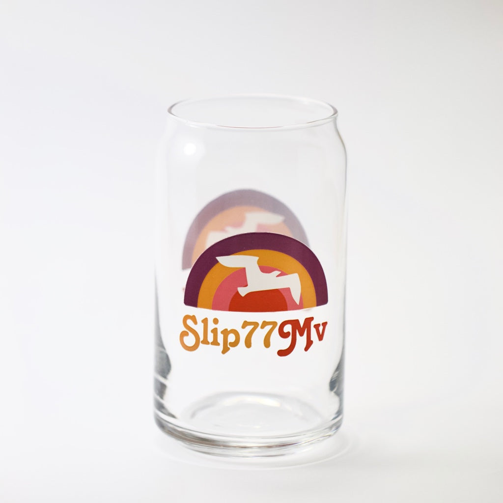 Slip77 Sunrise of 77 Can Glass 16oz