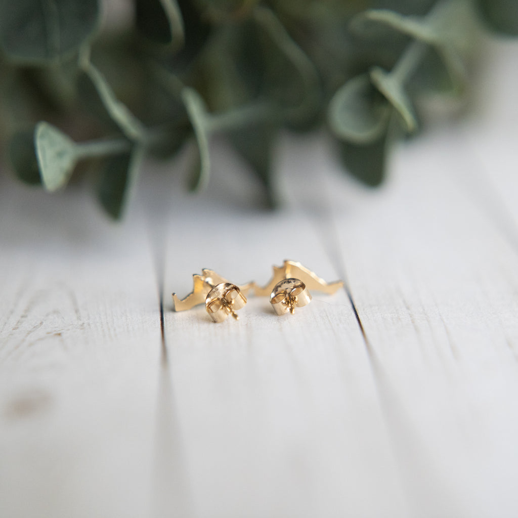 LFD Tiny MV Studs Gold