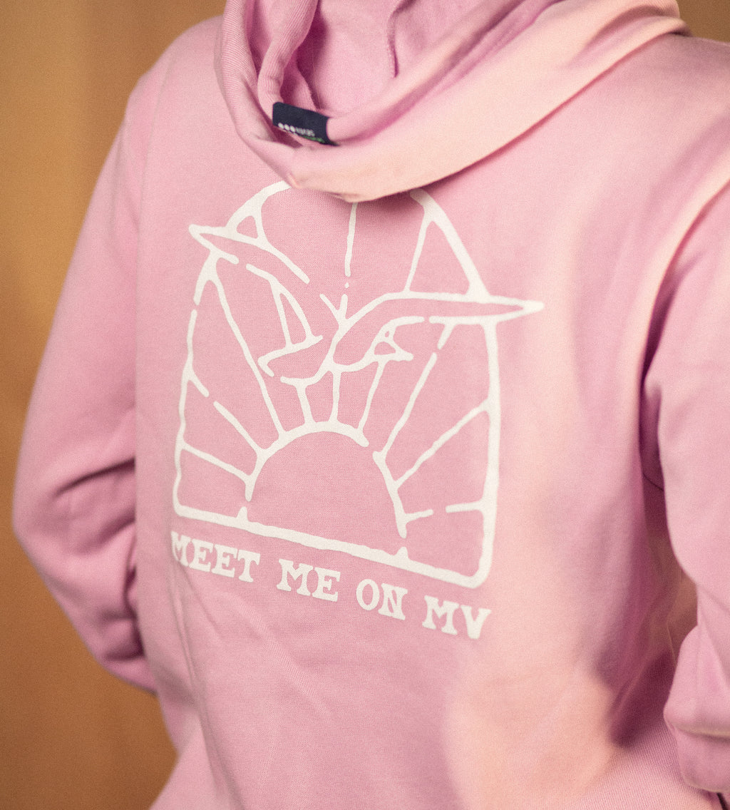 Women's Meet Me on MV Fleece Zip