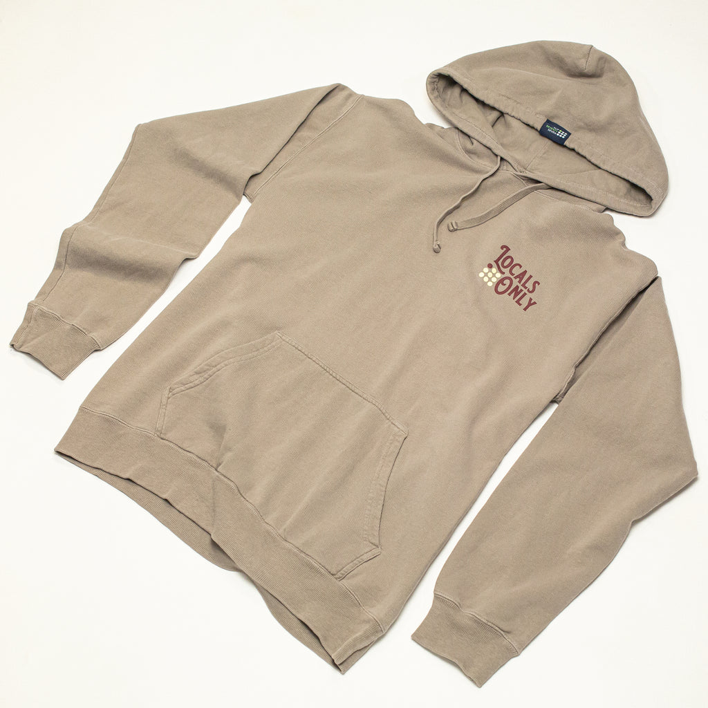 Men's Locals Only P/O Hoodie