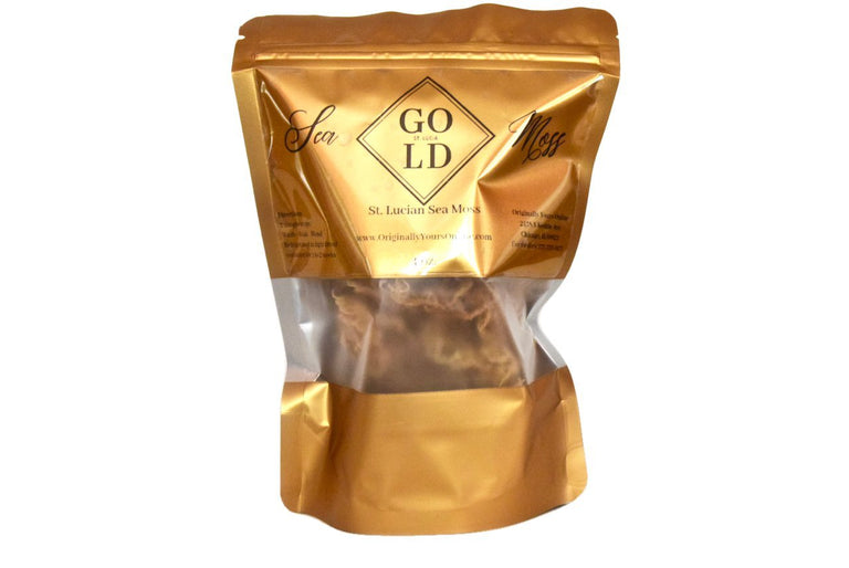 2 oz. St. Lucia Sea Moss Gold - st. Lucia Sea Moss Gold