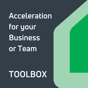 Acceleration for your Business or Team Toolbox