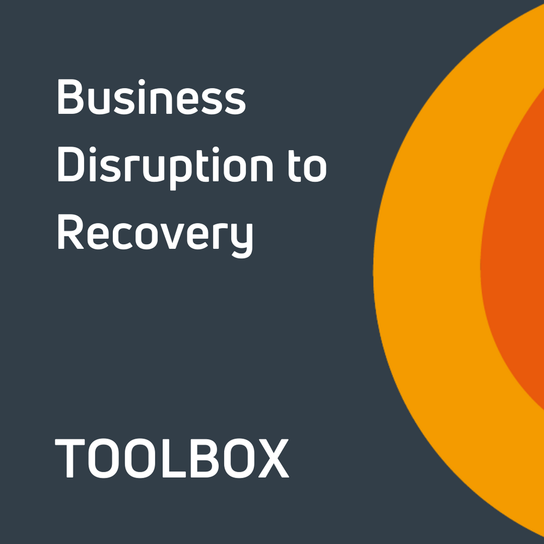 Business Disruption to Recovery Toolbox