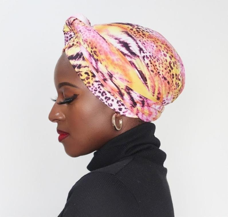 Wrap - Africa Yellow Pink