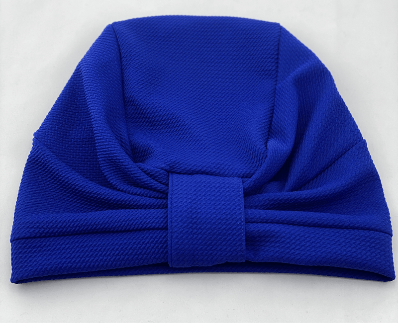 TurbansStuff TURBAN BASICS Turban Basic - Ocean Handmade Luxury Fashion Women Headwrap