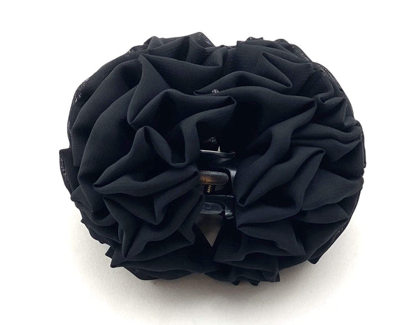 TurbansStuff Volumizing scrunchie Volumizing Scrunchie - Medium Size Handmade Luxury Fashion Women Headwrap