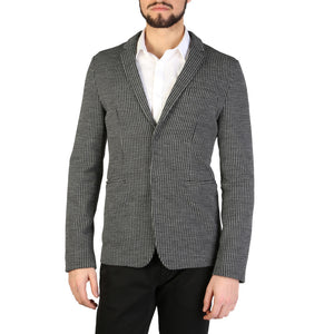 Emporio Armani s1g620_s1321_010_nero-grigio Men's Clothing Formal jacket