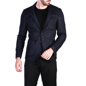 Made in Italia rodolfo_blu Men's Clothing Formal jacket
