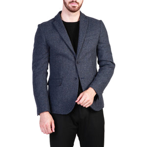 Made in Italia virgilio_blu Men's Clothing Formal jacket