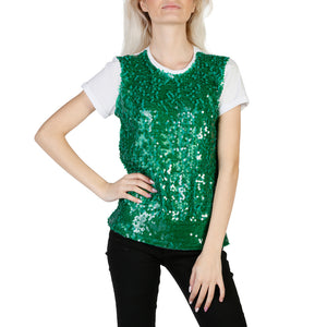 Imperial t560voi_1715_verde Women's Clothing T-shirts
