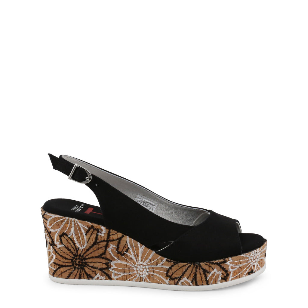 U.S. Polo Assn. - DONET4173S9_T1 Authentic Women's Wedge Shoe