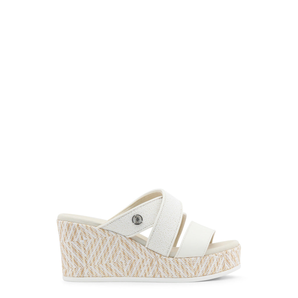 U.S. Polo Assn. - DONET4155S8_Y4 Authentic Women's Wedge Shoe