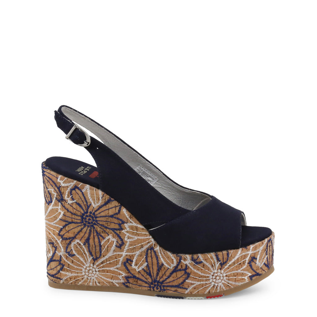 U.S. Polo Assn. - GOLDY4072S9_T1 Authentic Women's Wedge Shoe