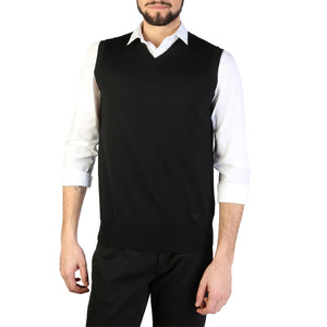 Emporio Armani 01j06m_0167m_999_nero Men's Clothing Vest