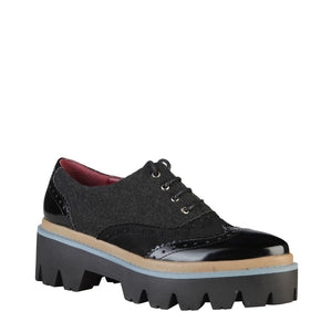 Ana Lublin lydia_nero Women's Shoes Lace up