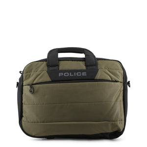 Police pto020010_1-2_hedge_armygreen Men's Bags Briefcases