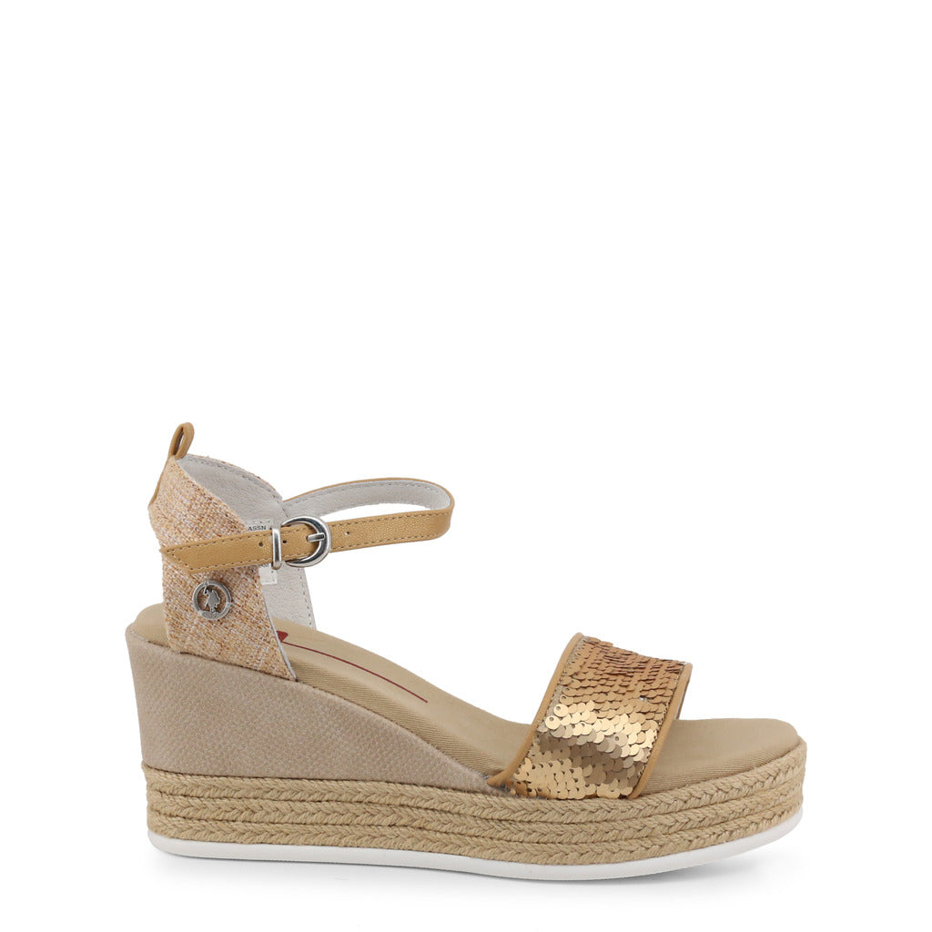 U.S. Polo Assn. - DONET4176S9_T1 Authentic Women's Wedge Shoe