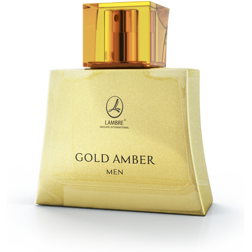 Eau de Toilette Gold Amber Men 75 ml