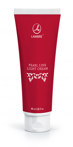 Lambre Pearl Line Light Cream For First Sign Of Aging, 80  ml