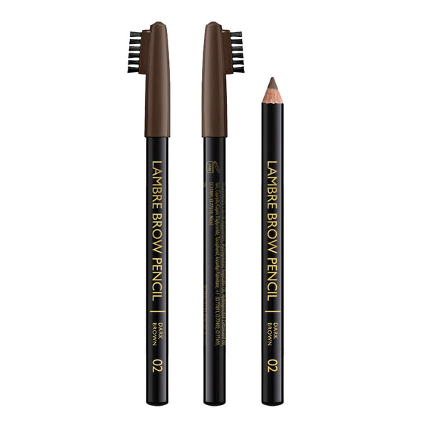 Lambre Eyebrow Pencil #2 Dark Brown