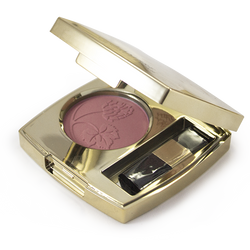 Lambre Compact Blush In #02 Shy Blush