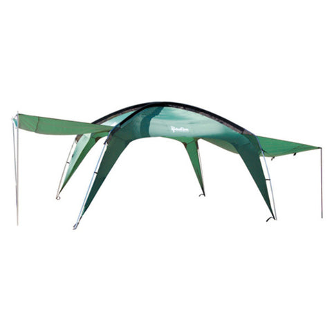 PahaQue Cottonwood XLT Sun Shelter with Awnings in Green