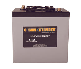 CONCORDE: Sun Xtender SEALEDd AGM BATTERY (PVX-2240T)..